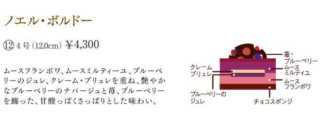 ノエル・ボルドー 4号 4300円