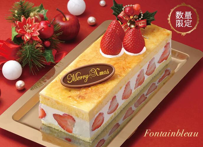 チーズケーキ パリ郊外のフォンテンブロー城の城壁をイメージした、くらた定番のケーキです。キャラメリゼの風味がフレッシュで甘酸っぱい苺と生クリームを引き立て、豊かなハーモニーが口いっぱいに広がります。